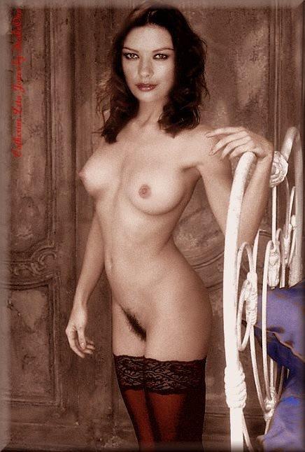 Catherine Zeta Jones Nude Playboy Pussy