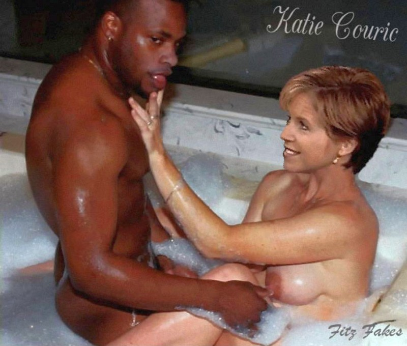 Katie Couric Fakes