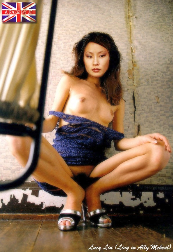 Lucy Liu Nude Fakes