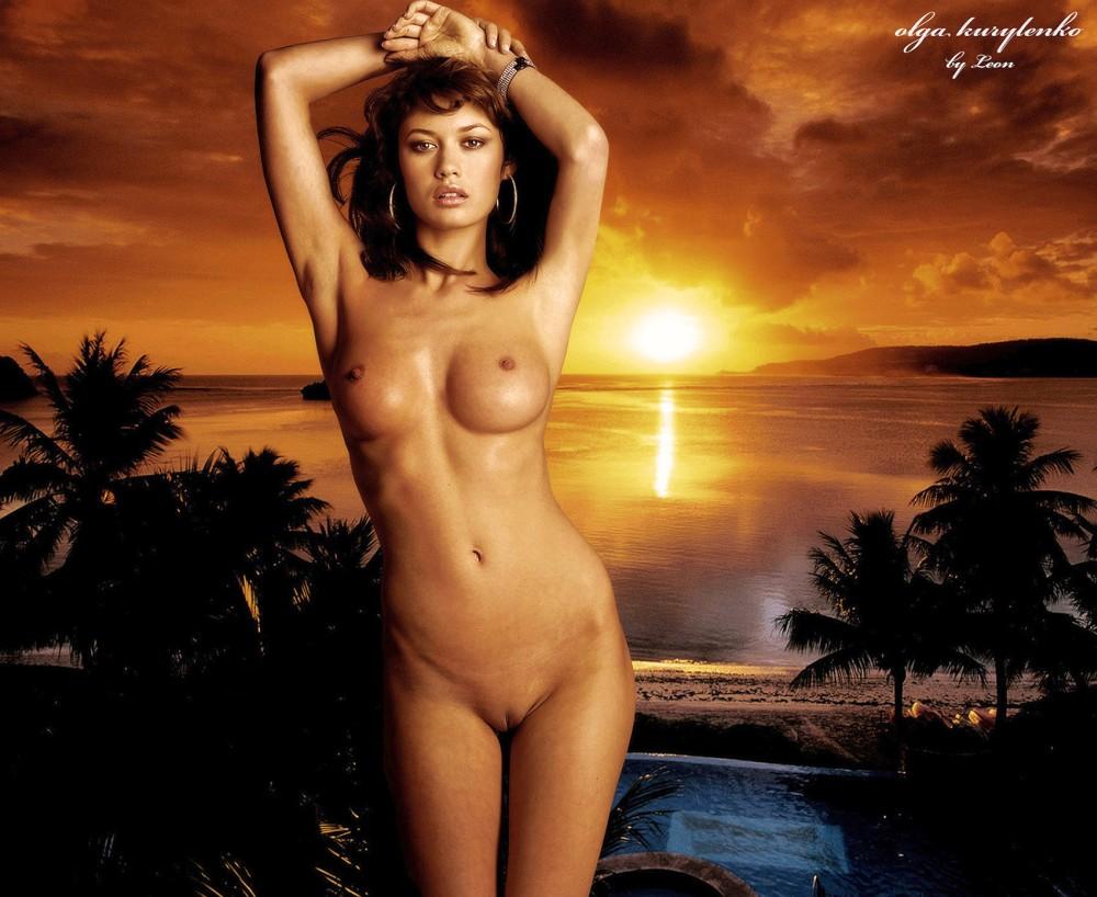 Olga Kurylenko Nude Fakes