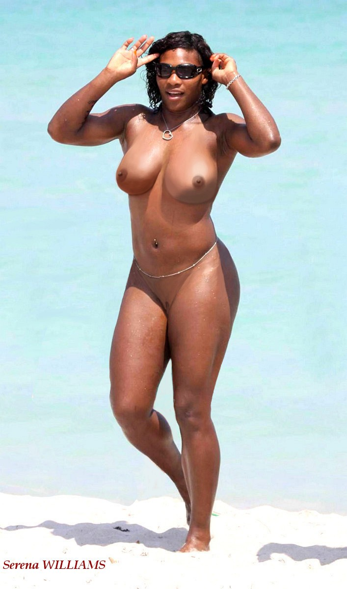 Hot serena boobs williams
