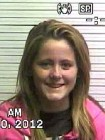 Teen Mom Jenelle Evans Mugshot (Photo)