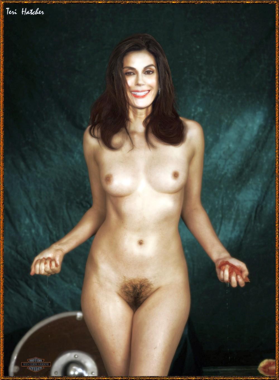 Teri Hatcher Nude Fakes
