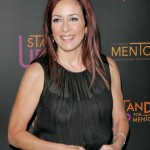 Patricia Heaton See-Through Top Oops
