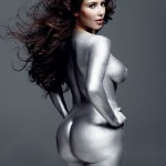"Kim Kardashian Naked in ""W Magazine"""