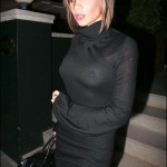 Victoria Beckham See-Throughs (Photos)